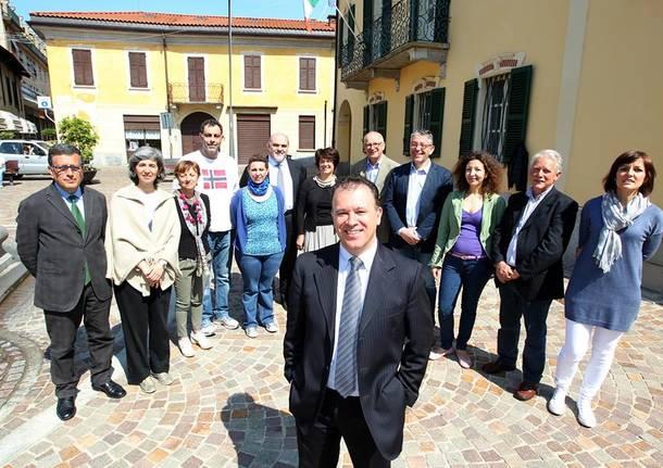 lucchina elezioni gavirate sindaco campagna elettorale lista civica