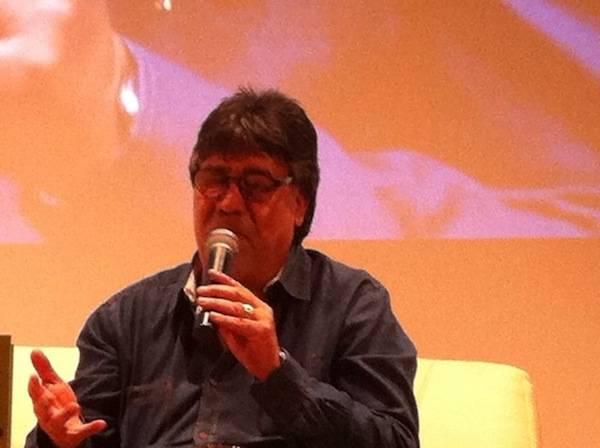 Luis Sepùlveda al Sociale per ritirare il Premio alla Carriera  (inserita in galleria)