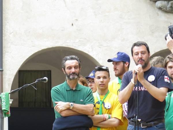 Matteo Salvini a Varese (inserita in galleria)