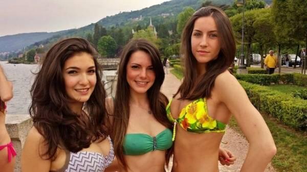 Miss Italia sul lago Maggiore (inserita in galleria)