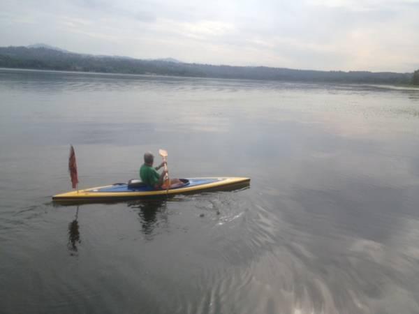 Alghe al lago a Bodio? Nemmeno l'ombra (inserita in galleria)