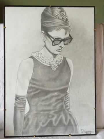 """Audrey"" di Sandro Vanoni (inserita in galleria)"