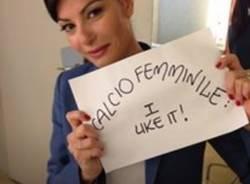 """Calcio femminile - I like it"" (inserita in galleria)"