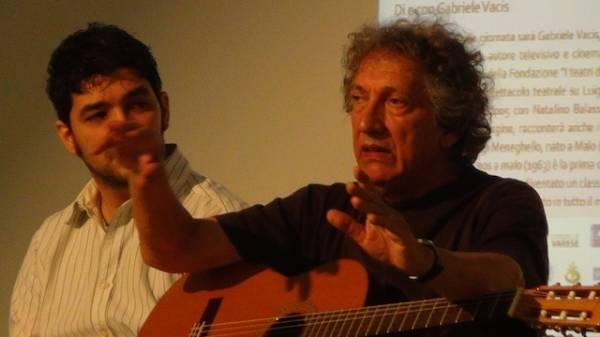 Eugenio Bennato a Ville Ponti (inserita in galleria)
