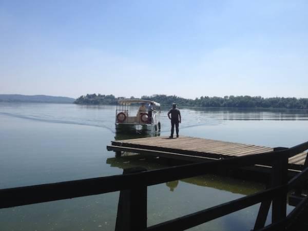 Il battello sul lago di Varese (inserita in galleria)