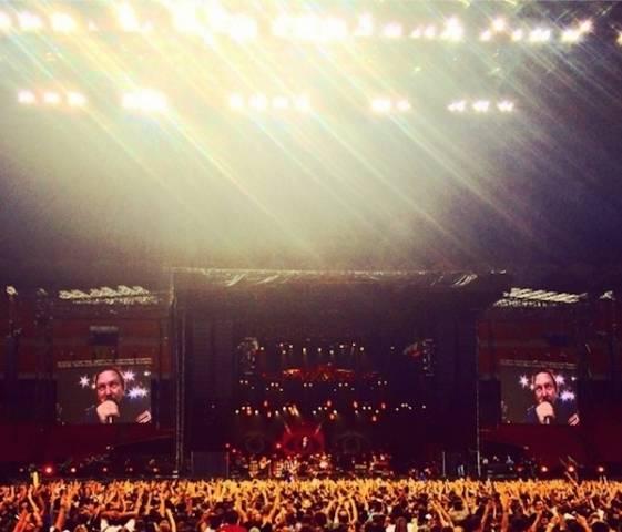 Il concerto dei Pearl Jam a Sansiro raccontato dai Social (inserita in galleria)