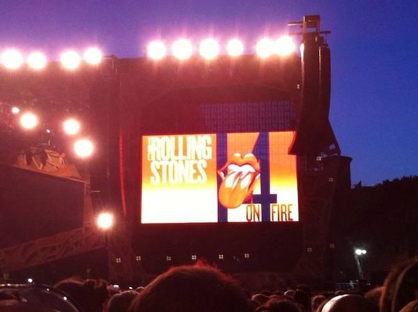 Il concerto dei Rolling Stones raccontato dai Social  (inserita in galleria)