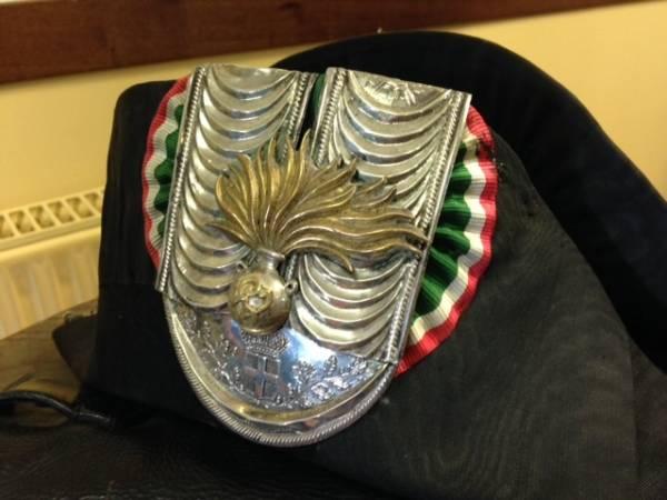 Le uniformi storiche dei carabinieri (inserita in galleria)