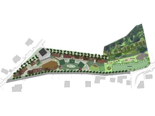 Nuovo progetto per la collina delle Candie (inserita in galleria)