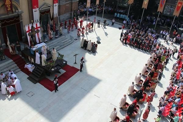 Palio di Legnano, la Santa Messa (inserita in galleria)