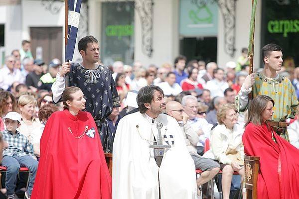 Palio di Legnano: Messa del fantino (inserita in galleria)