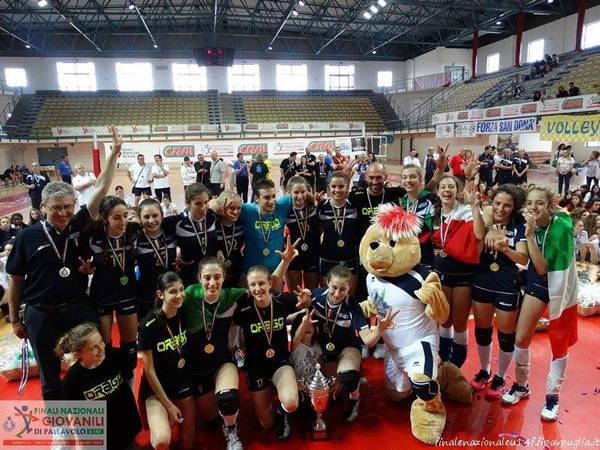 pallavolo under 14 progetto volley orago finali nazionali 2014 barletta