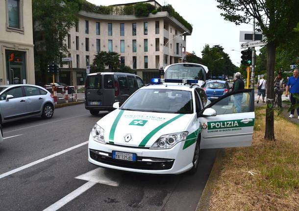 polizia locale busto corso italia via castelfidardo