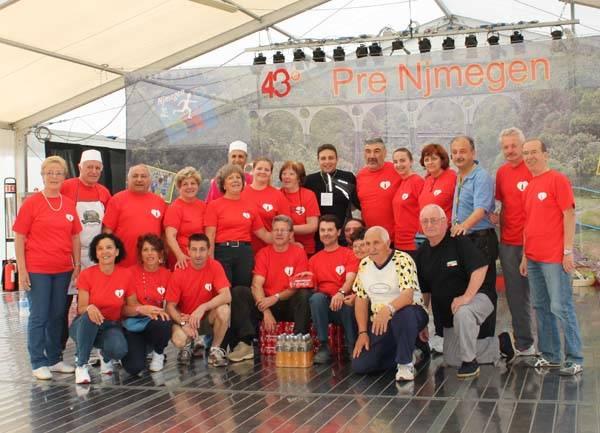 Pre Njmegen 2014: lo staff (inserita in galleria)