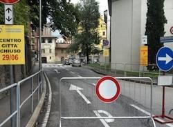strade chiuse apertura ciclsimo donne varese