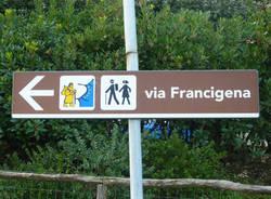 Sulla Via Francigena (inserita in galleria)