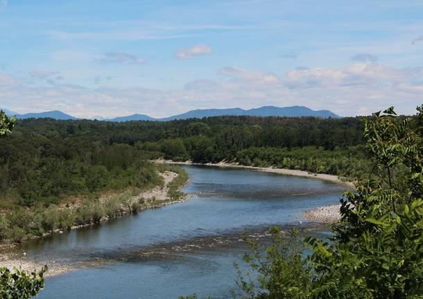 ticino parco fiume veduta