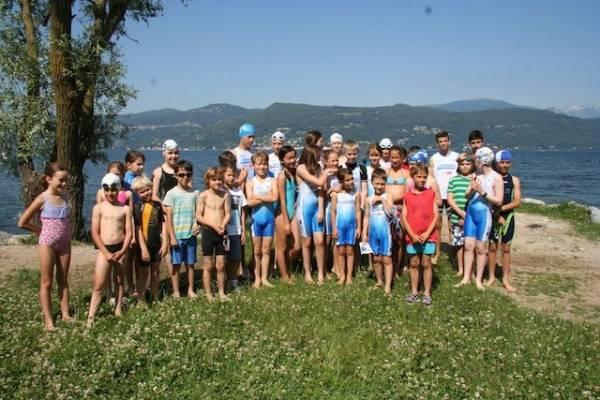 Triathlon promozionale a Besozzo (inserita in galleria)