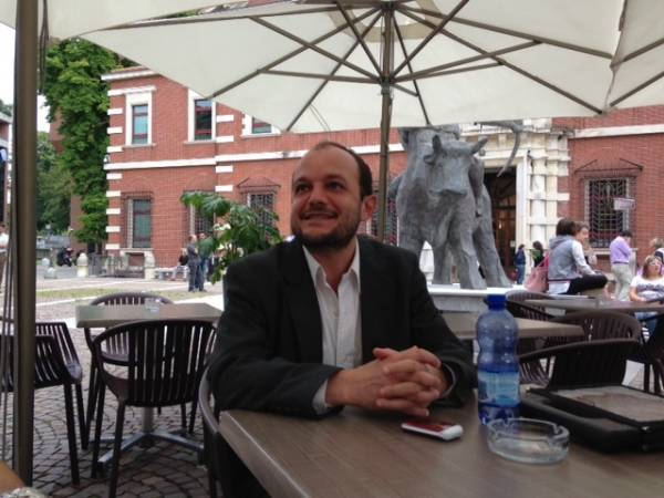 Alberto Biggiogero in tribunale (il testimone del caso Uva) (inserita in galleria)