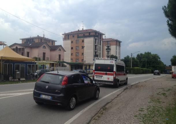 carabinieri ambulanza cassano magnago