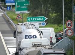 coda code autostrada uscita gazzada (per gallerie fotografiche)