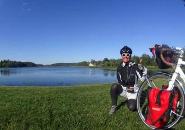 Da Marchirolo a Capo Nord in bici: il viaggio di Claudia (inserita in galleria)