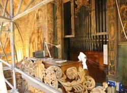 Da vicino il restauro al Santuario di Saronno (inserita in galleria)