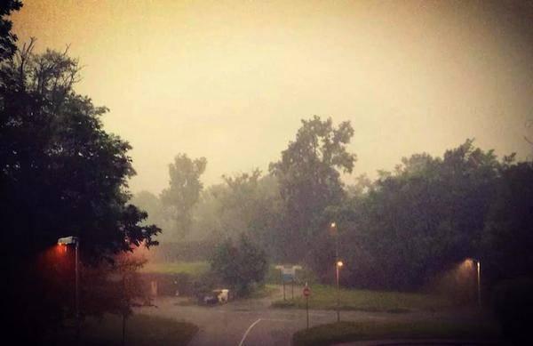 Forte temporale sulla provincia, le foto dei lettori  (inserita in galleria)