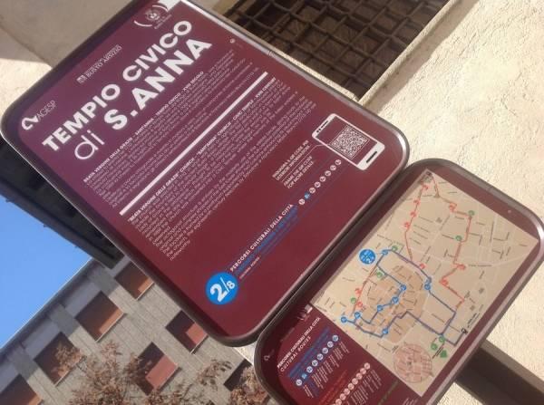 Gli itinerari turistici a Busto (inserita in galleria)