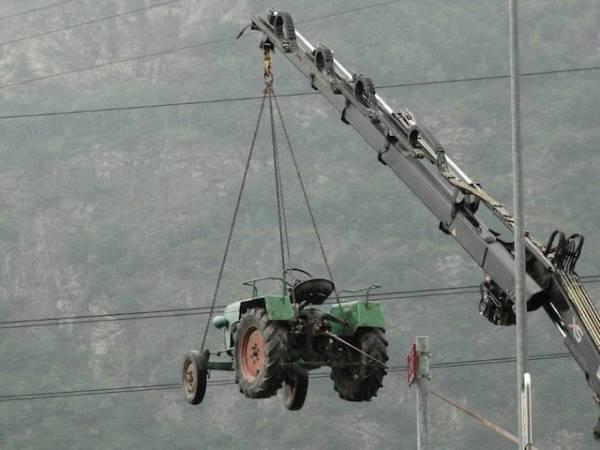 I trattori invadono la Svizzera (inserita in galleria)