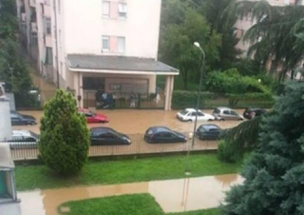 Il Seveso esonda: Milano va sott'acqua