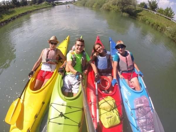 In kayak fino a Venezia - seconda tappa (inserita in galleria)