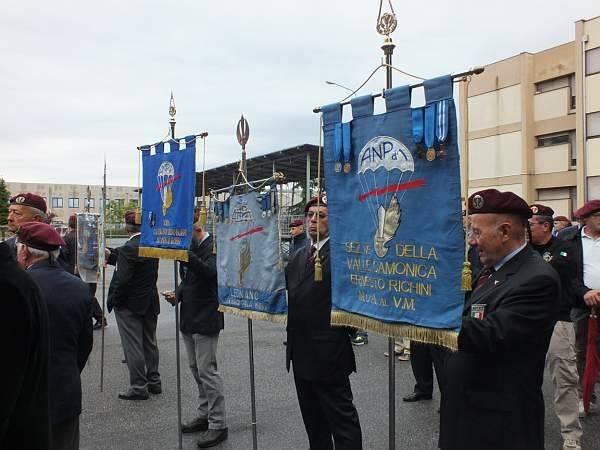 Inaugurato il monumento al paracadutista (inserita in galleria)