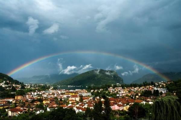 L'arcobaleno dei lettori (inserita in galleria)