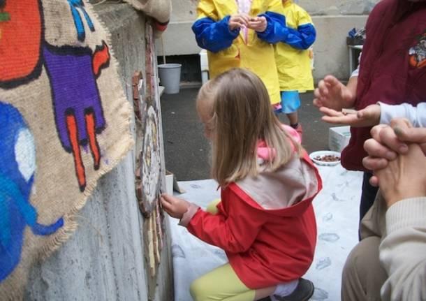 L'arte protagonista nella scuola materna di Lissago (inserita in galleria)