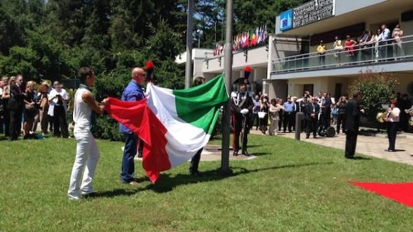 La festa al Ccr di Ispra per il semestre italiano (inserita in galleria)