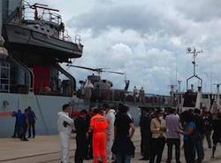 reggio calabria porto sbarco immigrati