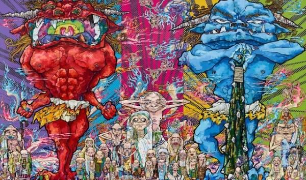 Takashi Murakami, il genio dei manga a MIlano (inserita in galleria)