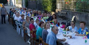 Cena dei vicini a Gorla MInore (inserita in galleria)