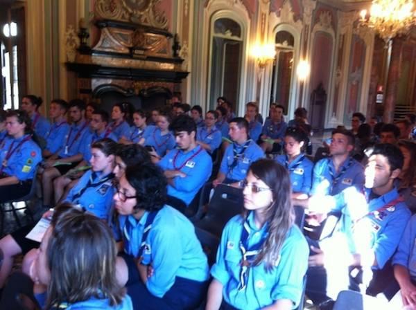 Gli scout a Varese (inserita in galleria)