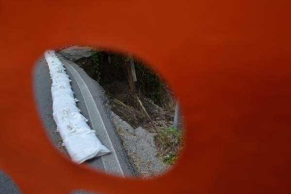 Il crollo di via Cristoforo Colombo (inserita in galleria)