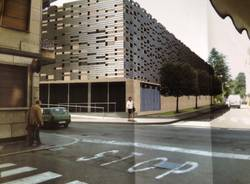 Il futuro parcheggio di via Sempione (inserita in galleria)