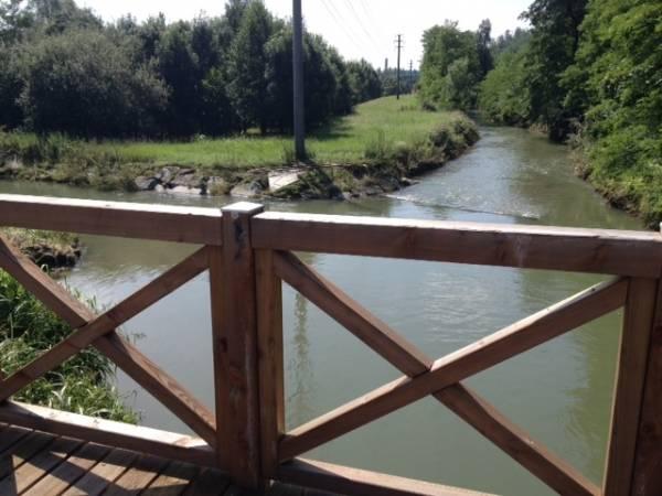 Inaugurato il ponte sul fiume Olona (inserita in galleria)