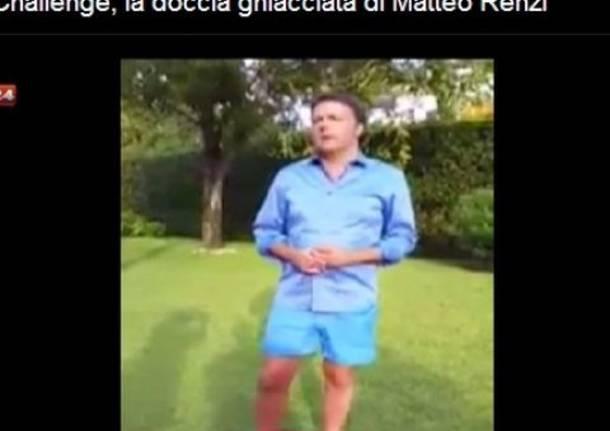 La doccia ghiacciata di Matteo Renzi