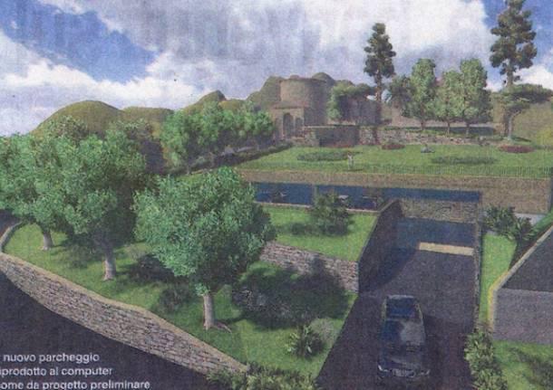 parcheggio prima cappella sacro monte