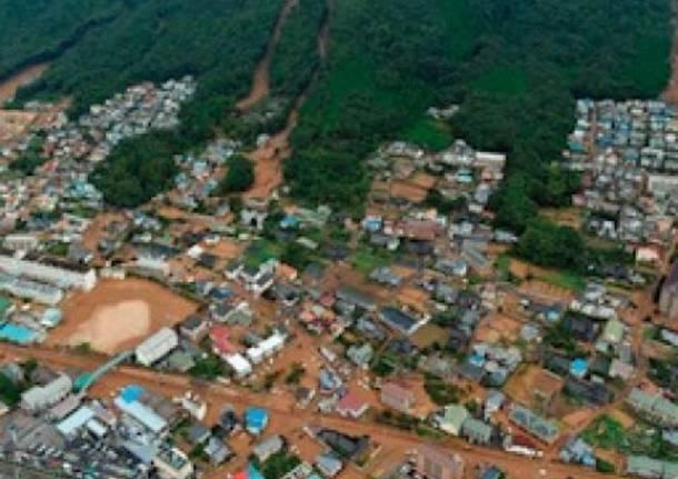 Piogge devastanti: morte e distruzione in Giappone