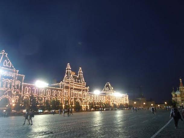 Saluti da Mosca