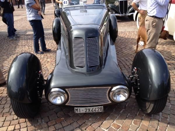 Auto e moto storiche per i 90 anni dell'A8 (inserita in galleria)