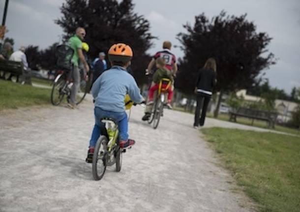 fai valle olona bici bambini