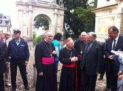 Il cardinal Tettamanzi al Sacro Monte (inserita in galleria)